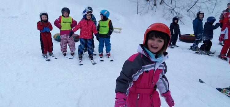 lyžování 2.den