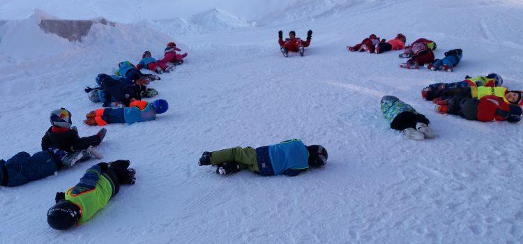 lyžování 3. den
